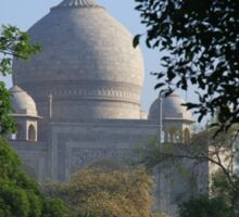 The Taj amongst the trees. Sticker