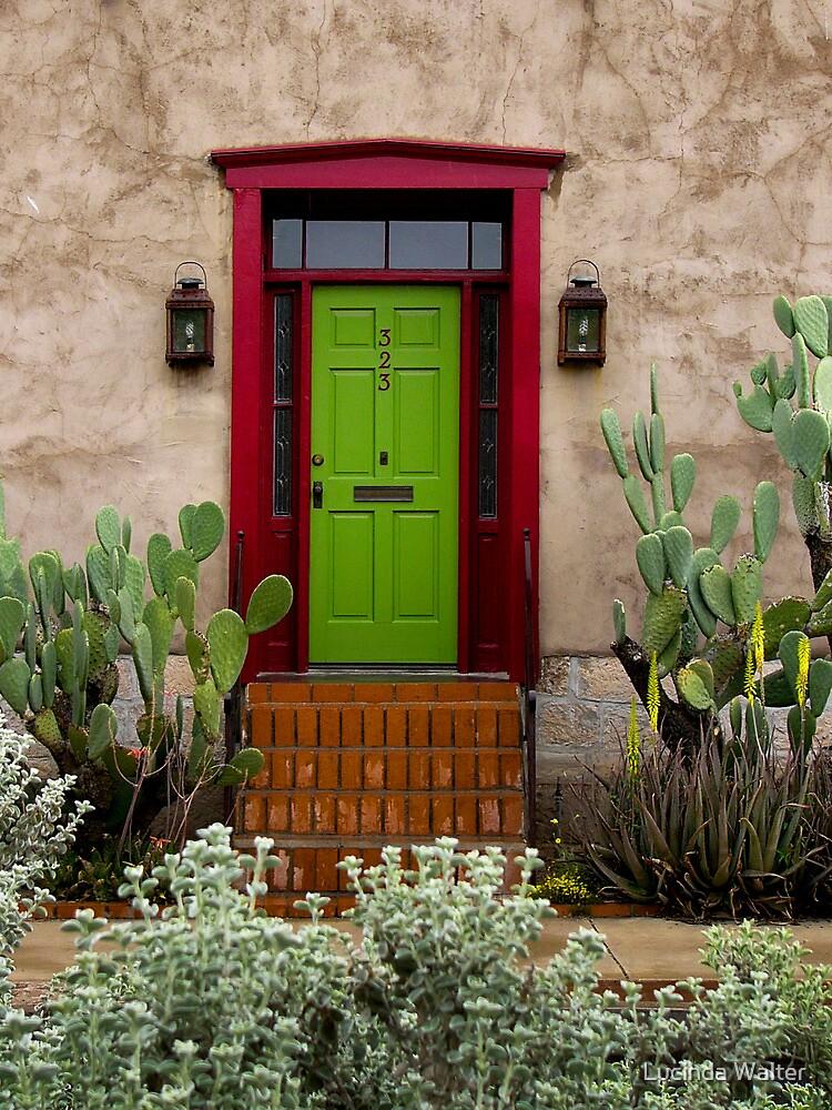 323 ~ Green Door by Lucinda Walter