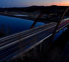 HDR 360 Bridge After Sunset 2011 by Roschetzky