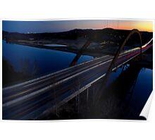 HDR 360 Bridge After Sunset 2011 Poster