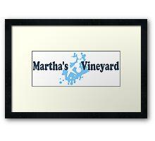 Martha's Vineyard. Framed Print