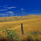 Windmills in the Hills by AdventureGuy
