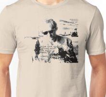 Bukowski Quotes Unisex T-Shirt