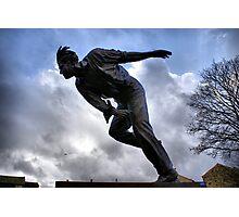 Statue Of Sir Freddie Trueman Photographic Print