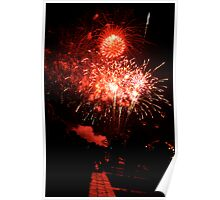 Fourth of July Fireworks Poster