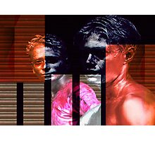 Men fragmented Photographic Print