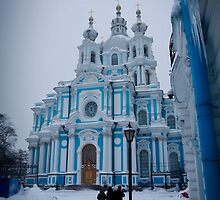 Smolny Cathedral by Daniel Berends
