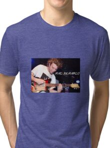 Mac Demarco Guitar Tri-blend T-Shirt