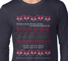 How Does a Fox Knit? Long Sleeve T-Shirt