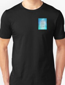 Let Go and Let God September Sky Unisex T-Shirt