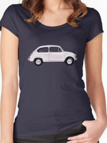 Fiat 600 Women's Fitted Scoop T-Shirt