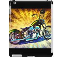 Old School Chopper iPad Case/Skin