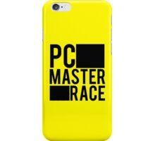 PC MASTER RACE iPhone Case/Skin