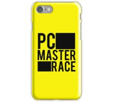 PC MASTER RACE iPhone Case/Skin