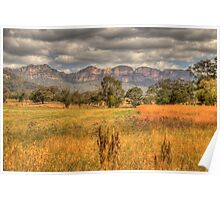 True Colours - Capertee Valley, Australia  - The HDR Experience Poster