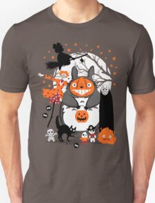 Creatures of the Night Spooky Color Option Unisex T-Shirt