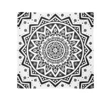 Mandala (white) Scarf