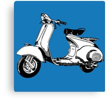Scooter motorcycle classic Canvas Print