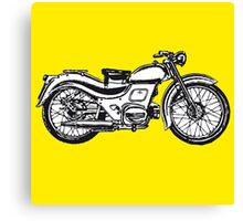 motorcycle classic Canvas Print