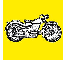 motorcycle classic Photographic Print