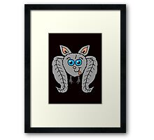 Goofy Bat Framed Print