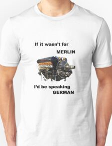 Ode to Rolls Royce Merlin Engine Unisex T-Shirt