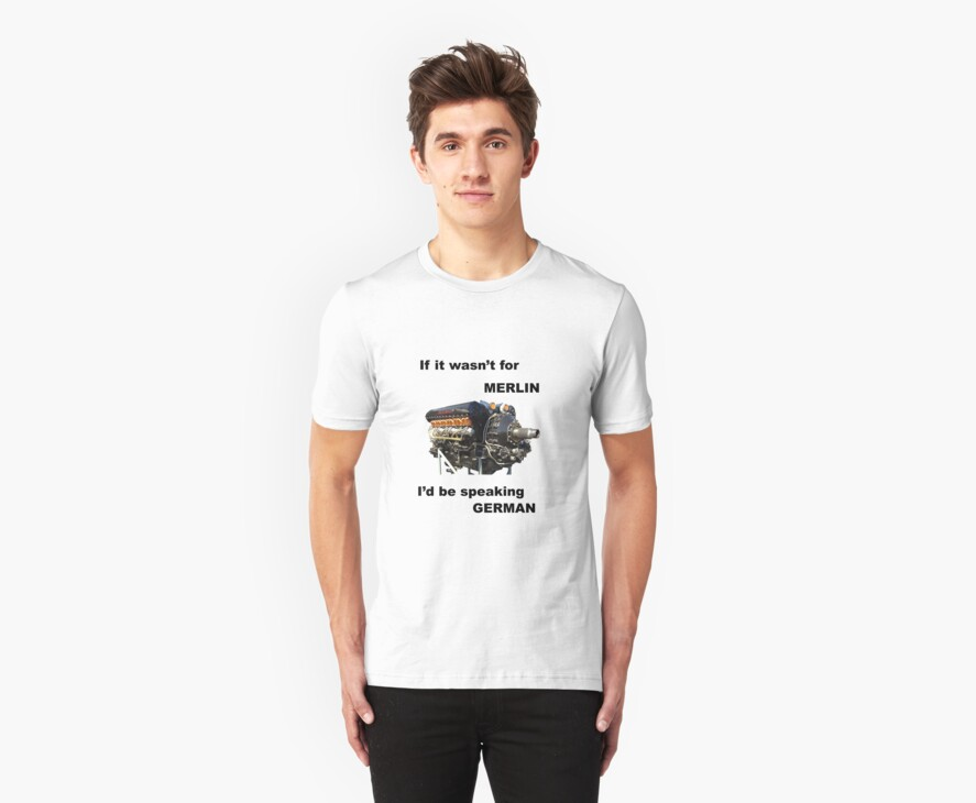 Ode to Rolls Royce Merlin Engine by halon