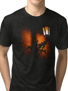 Lantern, its light and shadow (T-Shirt & iPhone case) Tri-blend T-Shirt
