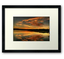 Angels On High - Narrabeen Lakes, Sydney - The HDR Experience Framed Print