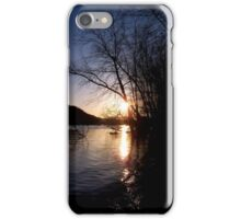 Sundown River iPhone Case/Skin