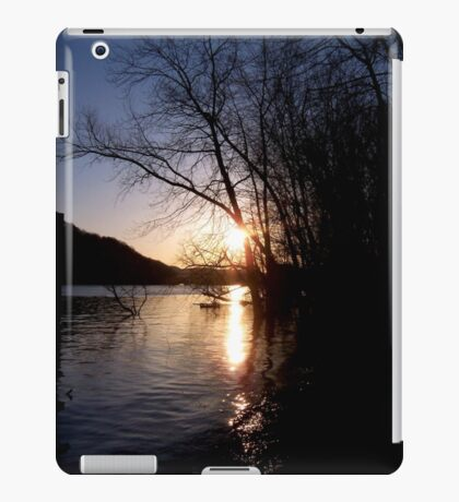Sundown River iPad Case/Skin