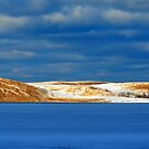 Winter at Silver Lake by Debbie  Maglothin