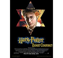 Harry Potter & the Zionist Conspiracy Photographic Print