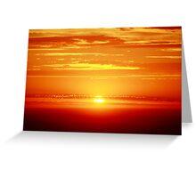 Illuminating Sky Greeting Card