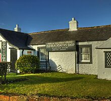 The Old Blacksmith's Shop,Gretna Green by Jamie  Green