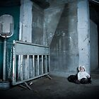 Lonely Abandoned baby by Chaim  Schvarcz