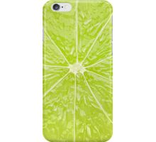 Slice of lime iPhone Case/Skin