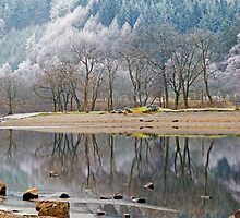 Winter at Loch Lubnaig in the Scottish Highlands by Keith Gooderham