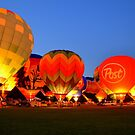Hot Air Balloons by Debbie  Maglothin