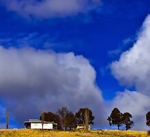 House on a hill by Paul Danyluk