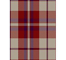 00316 Shiel, Claret (Dance) Tartan  Photographic Print