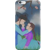 Hanbok couple (B) iPhone Case/Skin