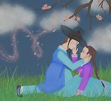 Hanbok couple (B) by liajung