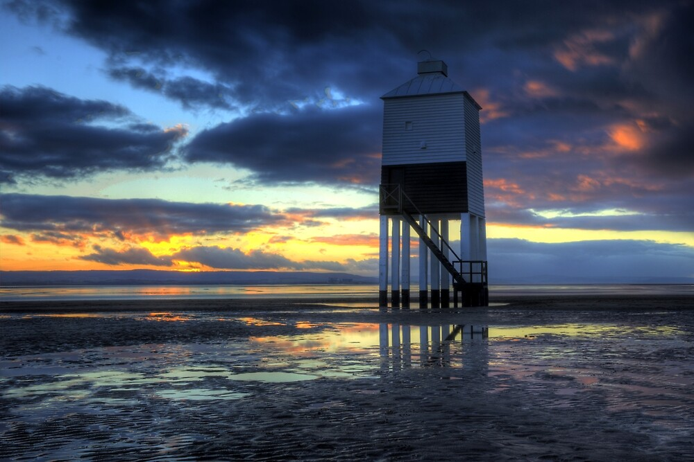 Lighthouse Sunset by Kevin Cotterell
