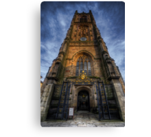Derby Cathedral Tower Canvas Print