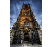 Derby Cathedral Tower Photographic Print