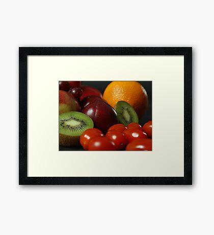 Still Life Fruit  Framed Print