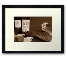 Perfect Lunch - Close Up Framed Print