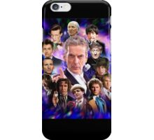 Doctor Who - Thirteen Doctors iPhone Case/Skin