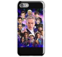 Doctor Who - Thirteen Doctors iPhone Case/Skin